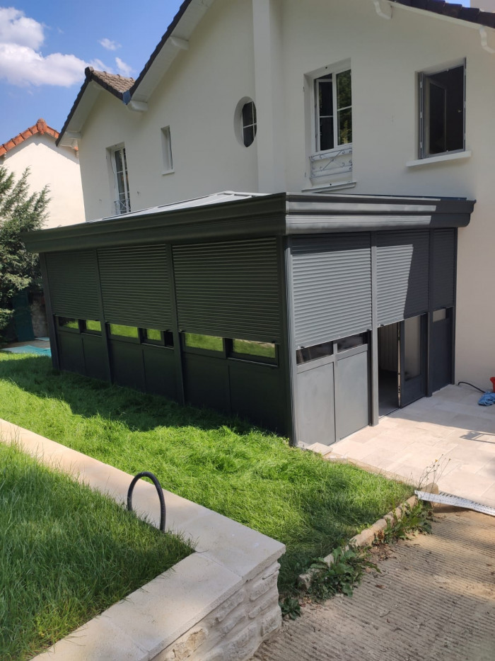 volets roulants veranda
