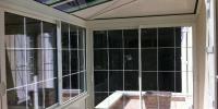 Véranda blanche - 5,10m x 2,40m - 12m²