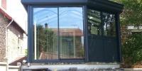Véranda grise - 5,80m x 4m - 23m²