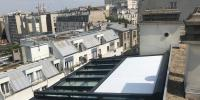 Véranda sur terrasse à Paris 20ème - Extension d'appartement