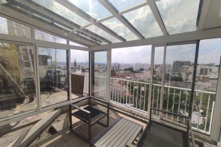 Véranda sur terrasse à Paris 20ème - Extension d'appartement